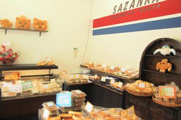 サンドウィッチハウス SAZANKA 店舗