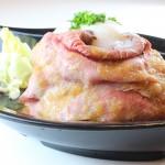 ローストビーフ丼3