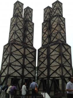 稼働した反射炉では日本で唯一完全な形で現存しています