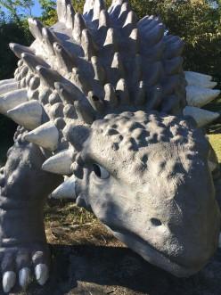 ・・・恐竜だ・・・