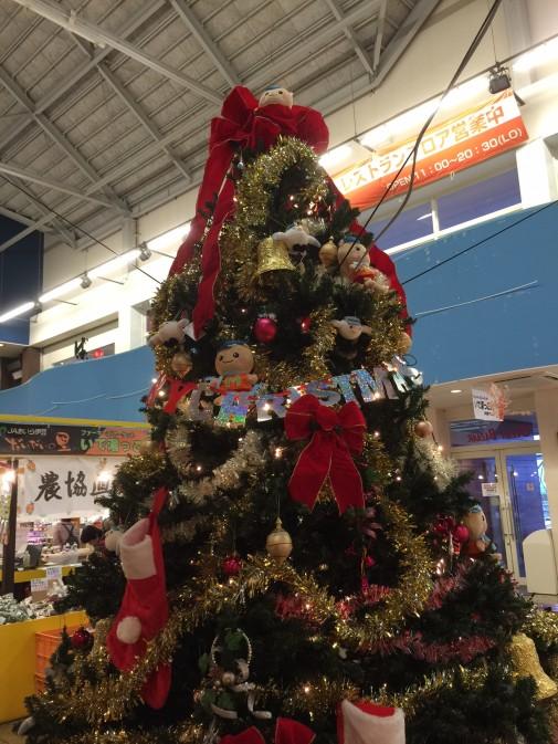 マリにゃんクリスマスツリー