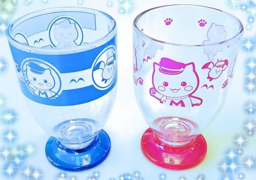 マリにゃんプラスチックグラス