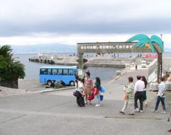 定期船発着場所の初島本港