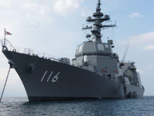 護衛艦2番鑑「てるづき」 その時代の最新鋭艦