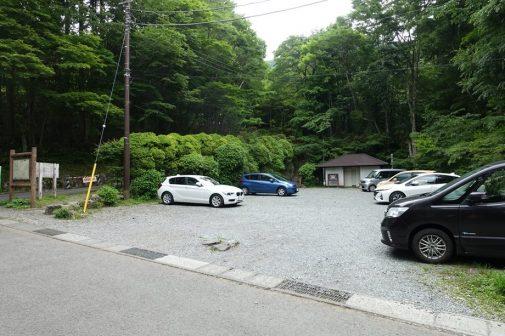 金時神社無料駐車場