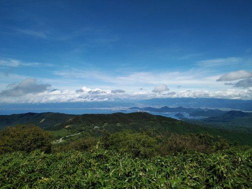 達磨山山頂からの眺め