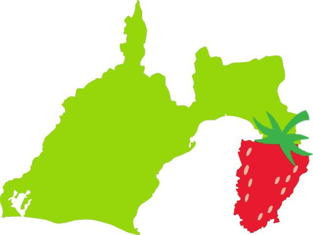 イチゴの有名な伊豆